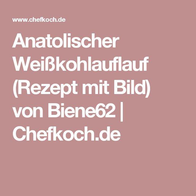 Anatolischer Weißkohlauflauf (Rezept mit Bild) von Biene62 | Chefkoch.de