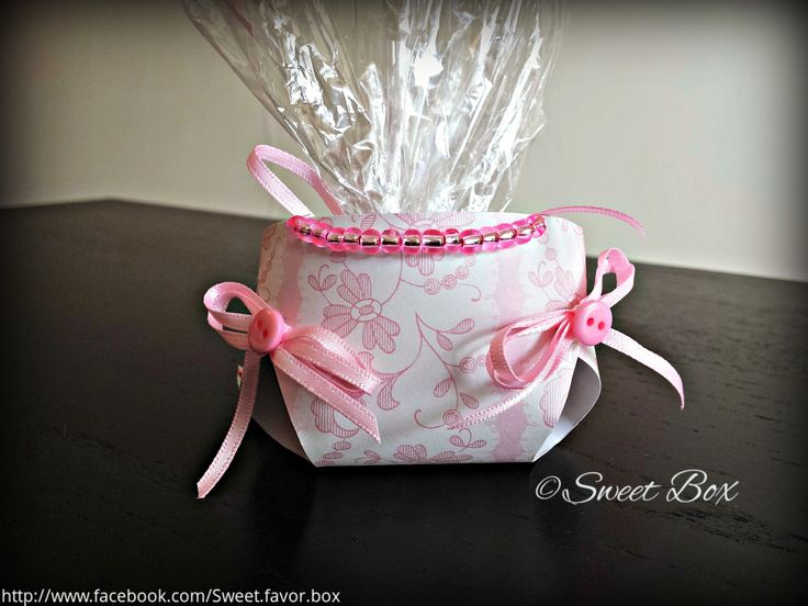 Diaper favor box, baby shower party favors