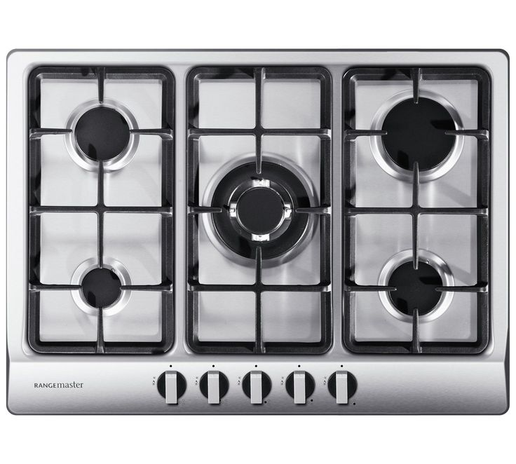 Buy Rangemaster 5 Burner Gas Hob - Stainless Steel at Argos.co.uk, visit Argos.co.uk to shop online for Gas hobs, Built-in integrated appliances, Large kitchen appliances, Home and garden #HomeAppliancesStainlessSteel