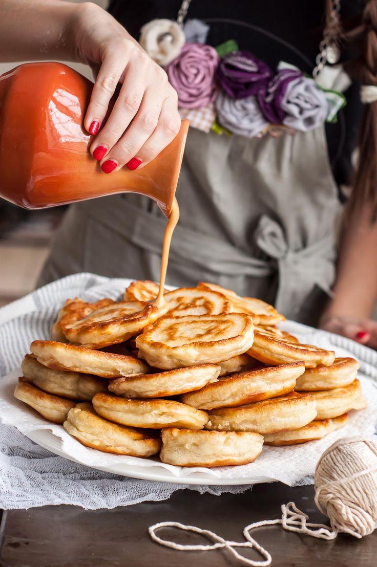 Fluffy Kefir Pancakes