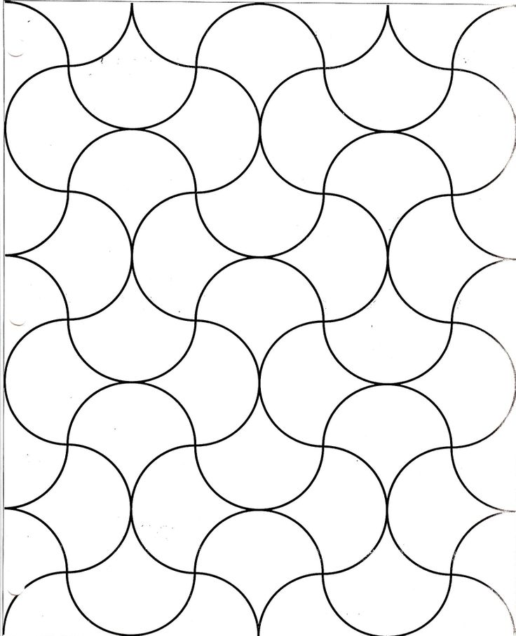 clamshell grid for a quilt design - how to make and planning your colors for the quilt