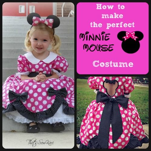 The perfect Minnie Mouse Dress!