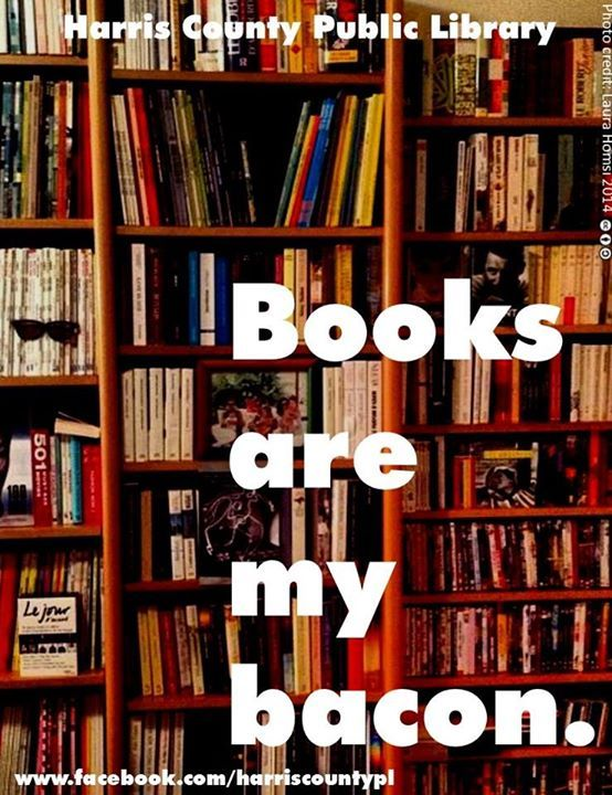 Books are my bacon ... though both is also ideal.