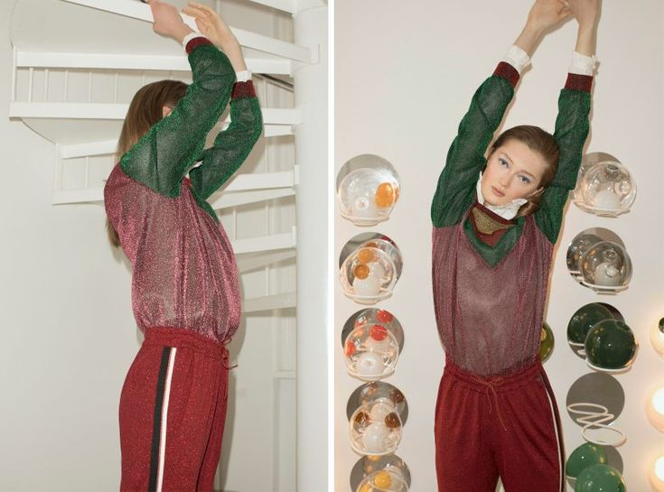 With its festive fashions and Lights On campaign, Scotch & Soda inspired this editorial full of playful uses of light | ©Volker Conradus for hey woman!