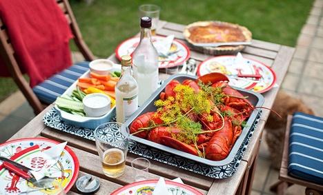 Kräftskiva (crayfish party)
