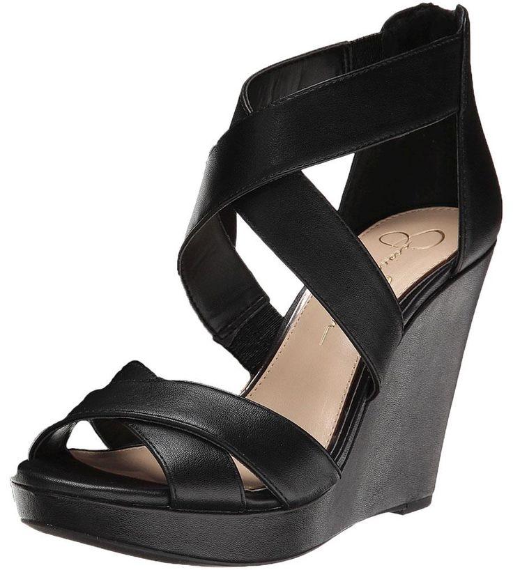 Jessica Simpson Jadyn Women's Strappy Wedge Sandals