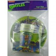 TMNT PArty Pack 40pc 24.95 A811075