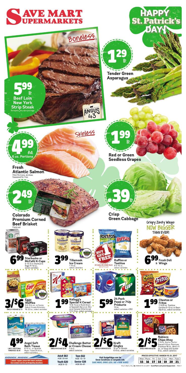 Save Mart Weekly ad March 15 - 21, 2017 - http://www.olcatalog.com/save-mart/save-mart-weekly-ad.html