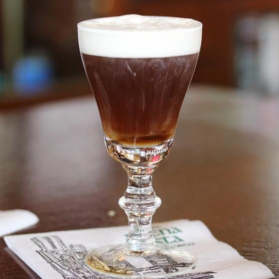 The famed Irish Coffee at Buena Vista Cafe.
