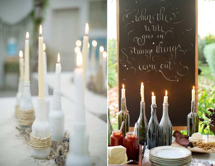 sobre Decoração Usada Em Casamento no Pinterest  Decorações Para