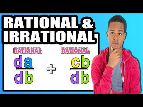 ☆ Operations with Rational and Irrational Numbers | Common Core Math - YouTube