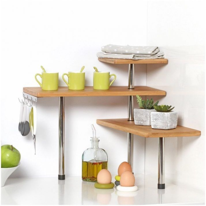 Kitchen Countertop Shelf Rack No Counter Space Solutions For