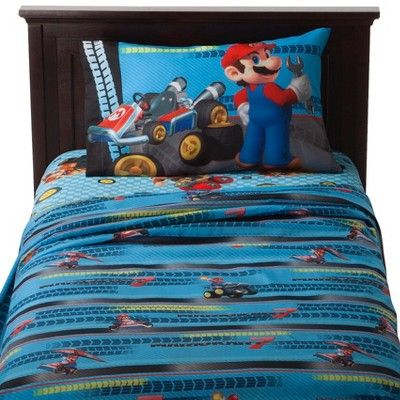 Nintendo Mario Kart Sheet Set