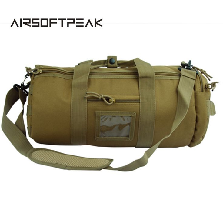 26.09$  Watch here - http://alim84.shopchina.info/go.php?t=32792473932 - Military Cross Body Hunting Bags Outdoor Hiking Camping Nylon Traveling Handbag Tactical Molle Barrel Shape Shoulder Bag  26.09$ #shopstyle