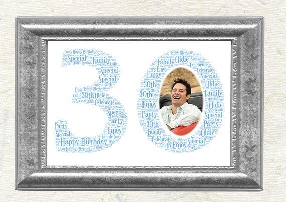 Personalised Birthday Word Art Anniversary