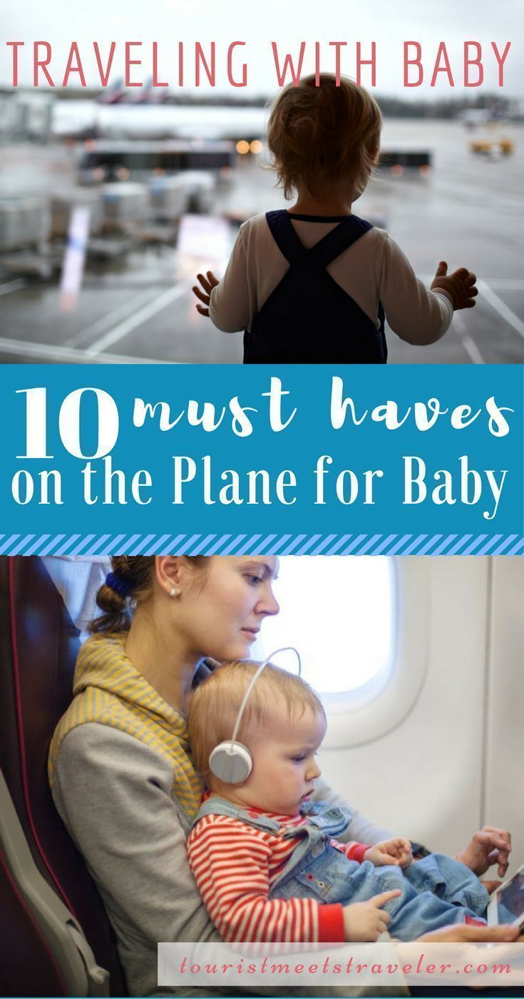 10 Things to Bring on a Plane When Traveling with A Baby. These 10 things will help your trip be more relaxing.   #Vacation