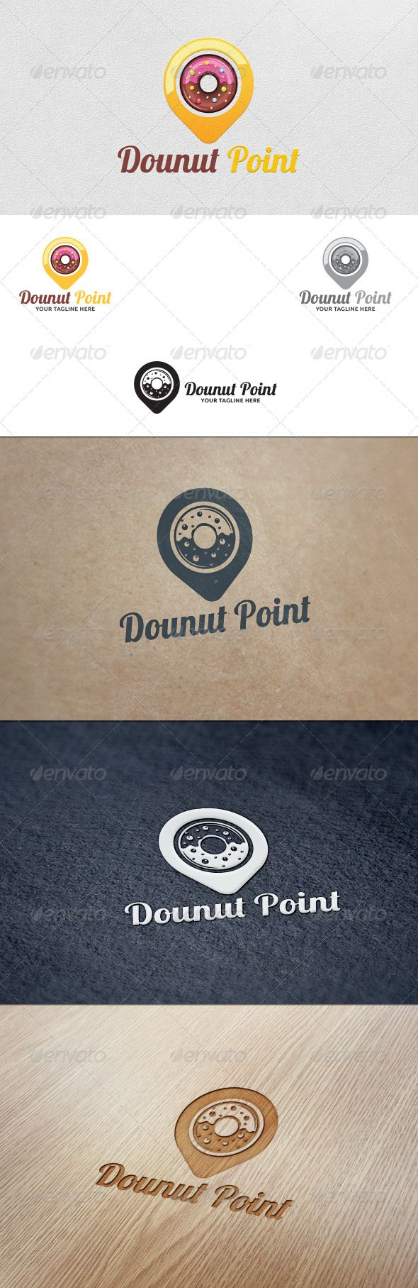 Donut Point - Logo Template