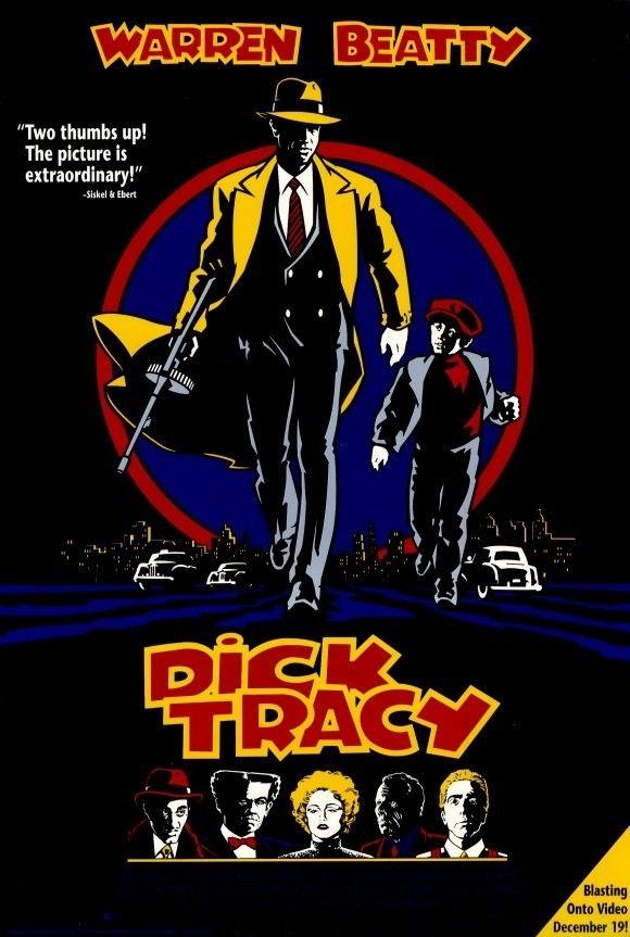 Dick Tracy 1990  Carteles De Cine  Pelculas Vintage -5682