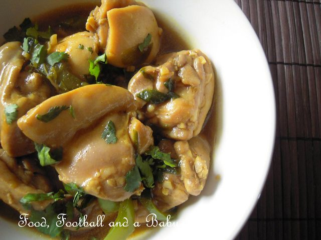 South Indian Chinese Chile Chicken