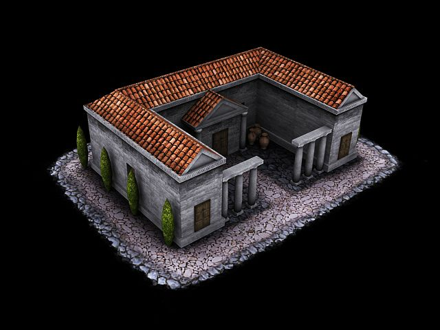 Spartan house image - The Peloponnesian Wars Mod for Battle for Middle-earth II