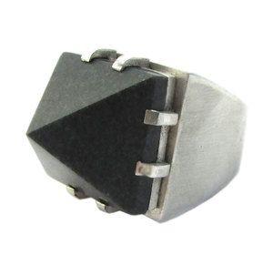Nikau Ring Silver — Marama