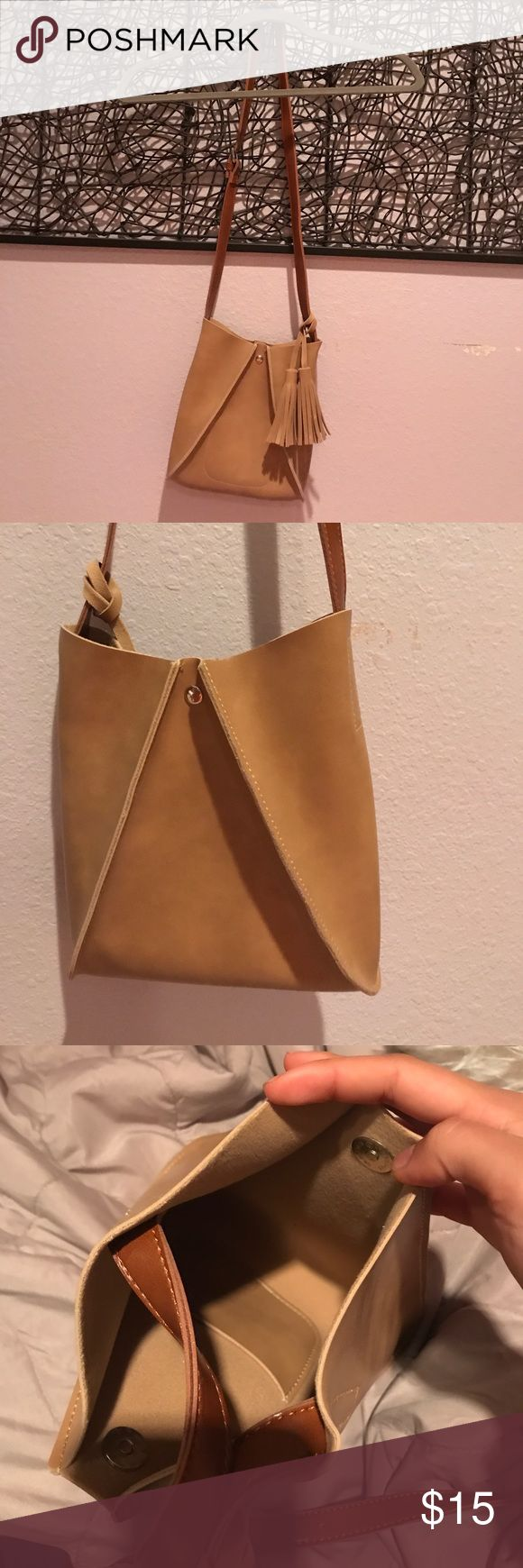 Brand New Bucket Purse Never used leather bucket purse, perfect condition, very stylish! Bags
