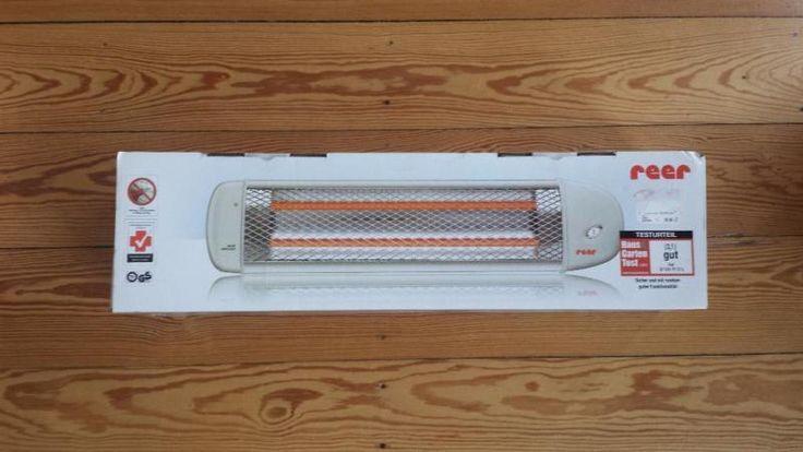 Wickeltisch-Wärmelampe von Reer mit Abschaltautomatik und 2 Wärmestufen (300/600 W).Neu/ unbenutzt und originalverpackt.Nur zur Selbstabholung.