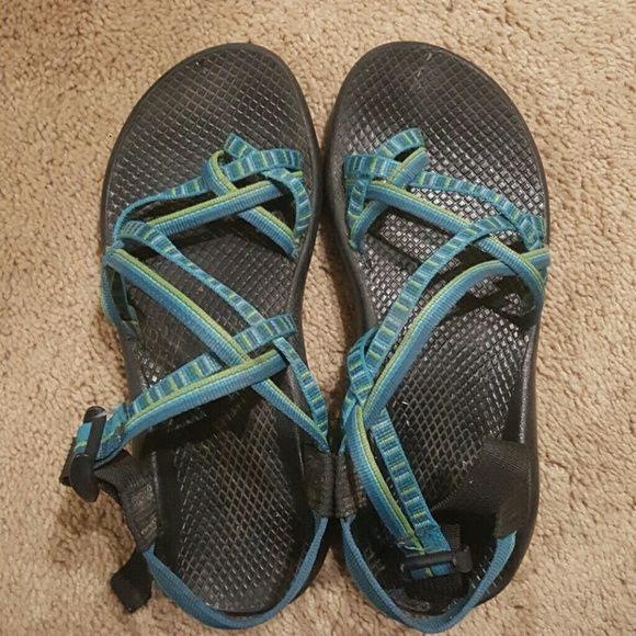 Shop Women's Chaco Blue Green size 8 Sandals at a discounted price at Poshmark. Description: Blue and green womens chacos size 8. Sold by anda_18. Fast delivery, full service customer support.