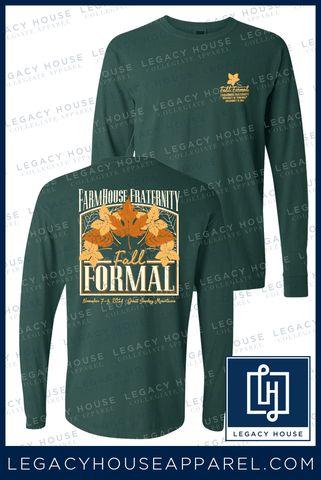 FarmHouse Fraternity Fall Formal #FarmHouse | LegacyHouseApparel.com | Custom Sorority & Fraternity T-Shirts | Greek Printed Tees | Collegiate Apparel |