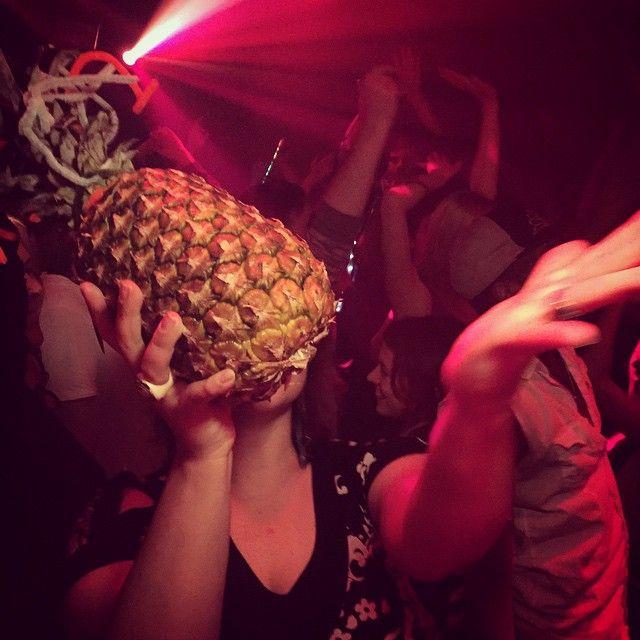 Pineapple lovin' ;)