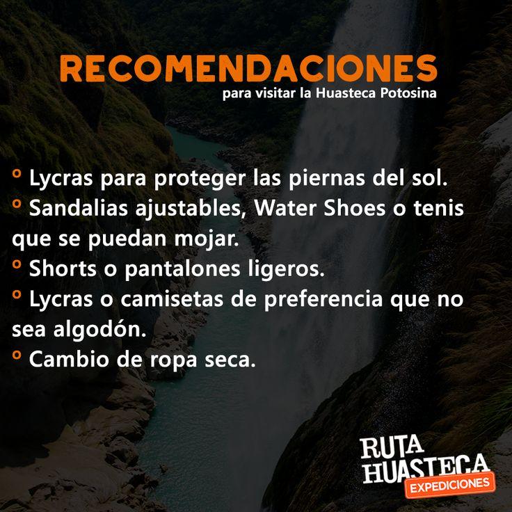 Con estas recomendaciones pasarás unas vacaciones increíbles en la #HuastecaPotosina.  #WeLoveAdventure  www.rutahuasteca.com  +52 481 381 7358 WhatsApp: 481.116.5900 email: info@rutahuasteca.com #RutaHuasteca #SLP #Ecoturismo #TurismoDeNaturaleza #VisitMexico #Tours #TodoIncluido