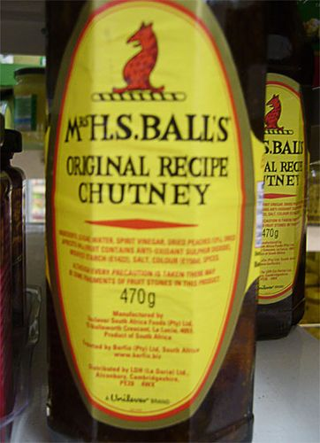 Mrs Balls chutney recipes