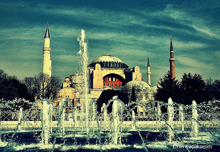 Ayasofya. İstanbul. Turkey. Fotograf: Emin Küçükserim