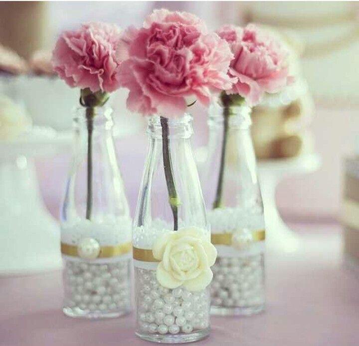 Şişede güller
