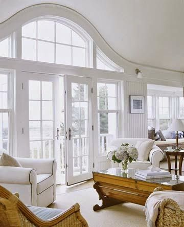 white and wood and ocean breezes