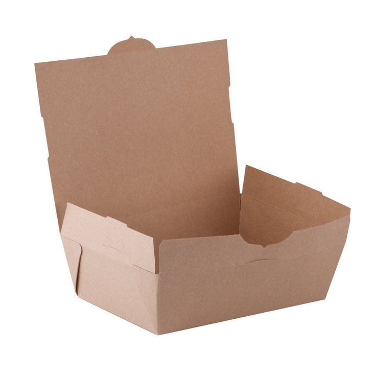 Disposable Brown Medium paper Lunch Box Takeaway in Business, Office & Industrial, Restaurant & Catering, Supplies | eBay