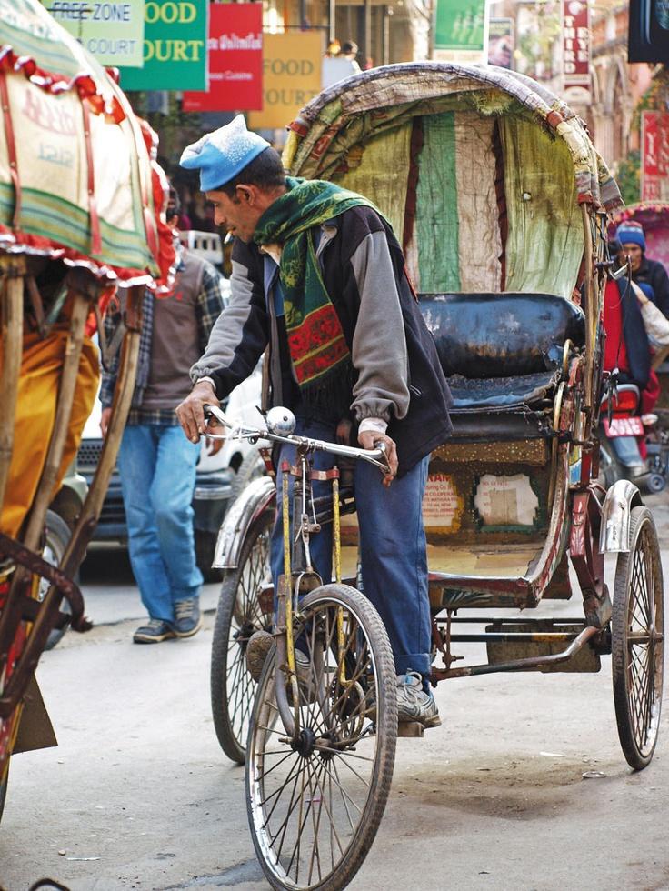 Tuk-tuk in Nepal. Photo by Judy Conrad