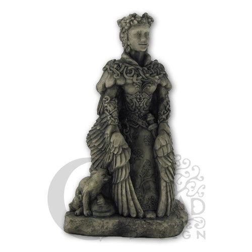 Small Freya Statue Stone Finish Dryad Designs Goddess Norse Wiccan Pagan | eBay