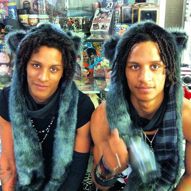 """lt-motionry: """" Les Twins @ Naruto studio """""""