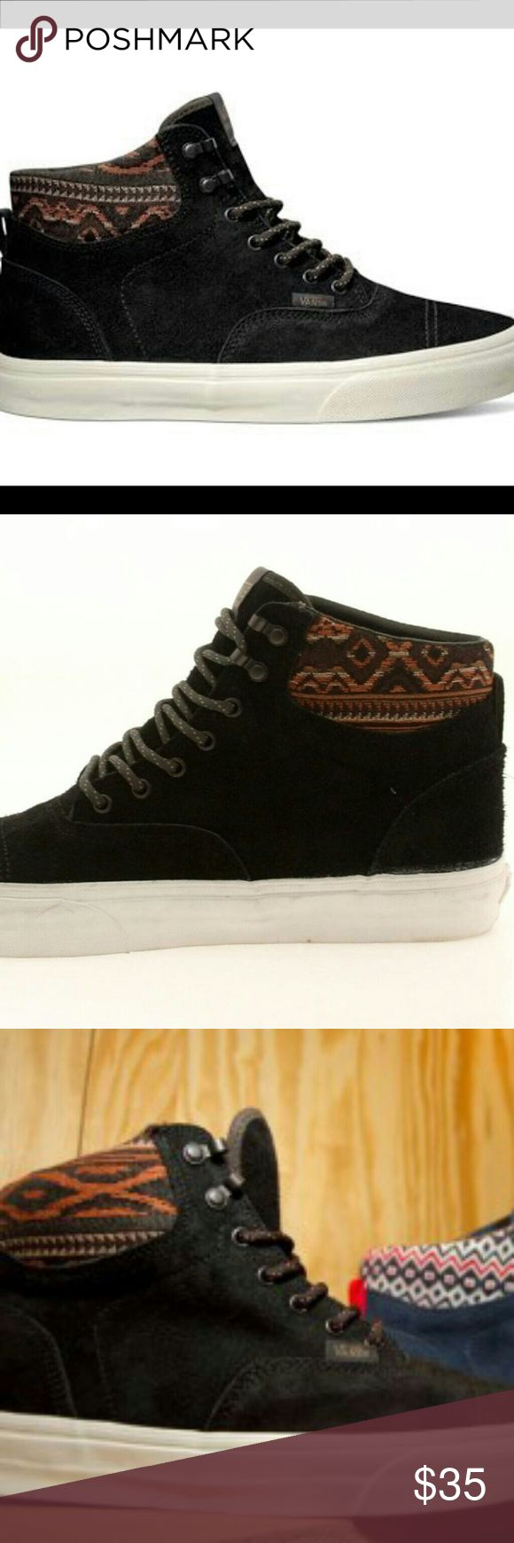 Nib mens vans price firm This is a new pair men size 13 high top Mountain boots Vans Shoes