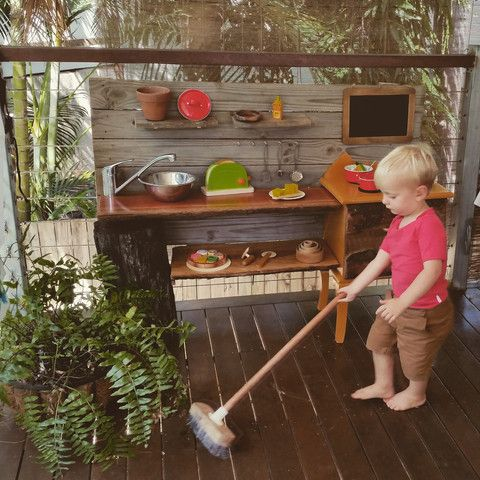 Earth Toys DIY Play Kitchen