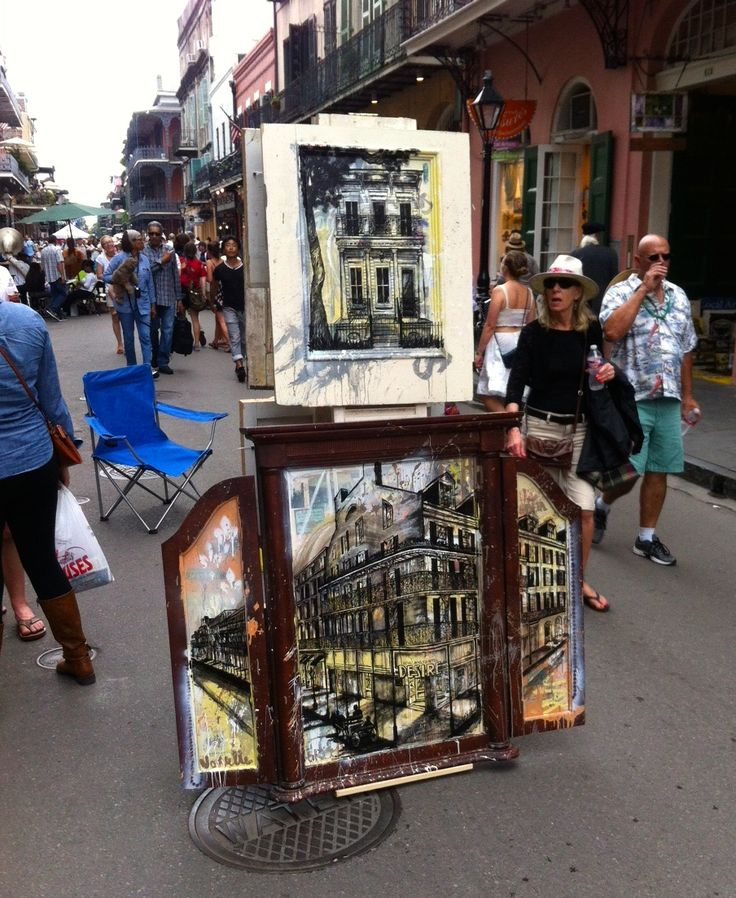 Local art is abundant in NOLA and a great way to spend your tax refund.