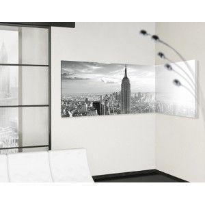 Hoek schilderij Manhattan horizon panorama 02:01