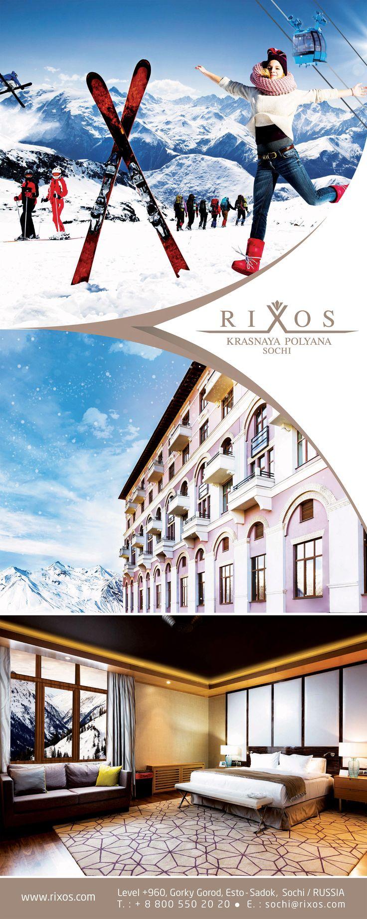 White Season at Rixos Krasnaya Polyana Sochi