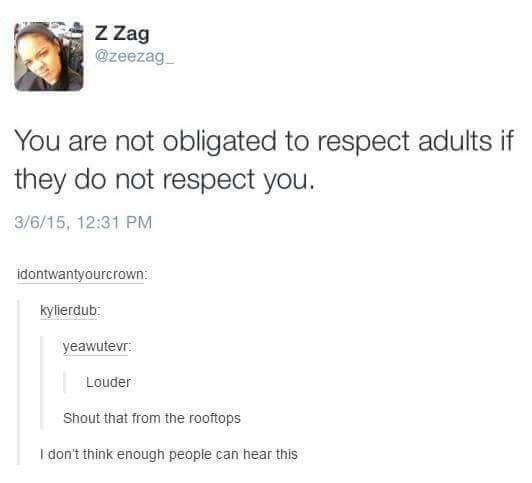 LOUDER FOR THE KIDDOS IN THE BACK