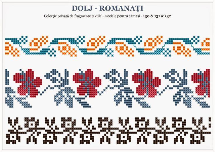 Semne Cusute: traditional Romanian motifs - OLTENIA Dolj-Romanat...