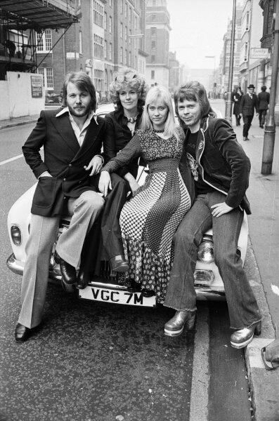 ABBA. 'Waterloo' era I think.