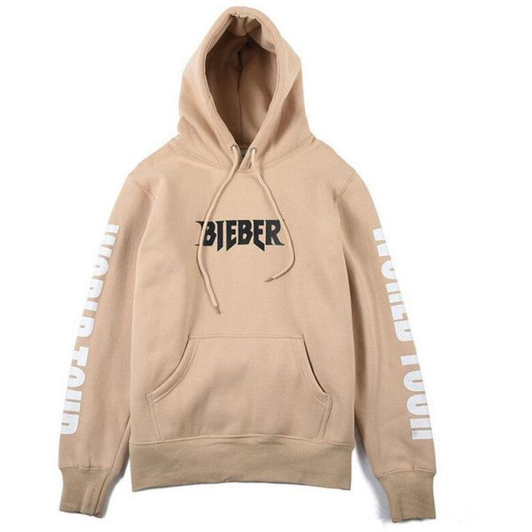 Justin Bieber PURPOSE TOUR 2016 exclusive Hoodie (330 DKK) ❤ liked on Polyvore featuring tops, hoodies, unisex hoodies, hooded sweatshirt, justin bieber hoodie, justin bieber and beige top