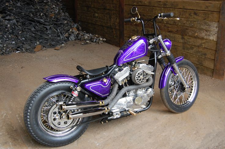 Sweden Chopper Frisco Style Harley Davidson Sportster purple