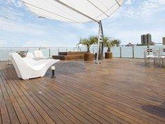 Tavole e quadrotte precomposte per outdoor Decking - PARCHETTIFICIO GARBELOTTO